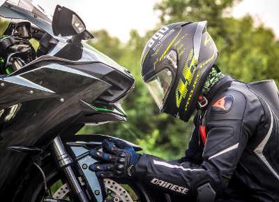 Motorrad Racingreifen